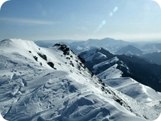 A Radnai-havasok keleti oldala